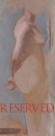 16. Figure Study. 7.5x11.5. 2008. Oil on Panel. Tuscany(reserved)