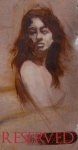 38. Study of Jessica. 4.5x9. Oil on Panel. 2008. Tuscany(RESERVED)
