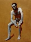 Johnny. Oil on canvas. 24x33. 2010. Tuscany